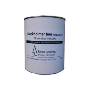 natuurlijke hout teer stockholmer mild