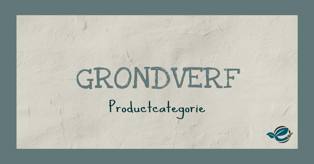 grondverf biobased