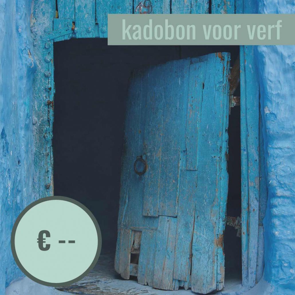 kadobon verf model 05