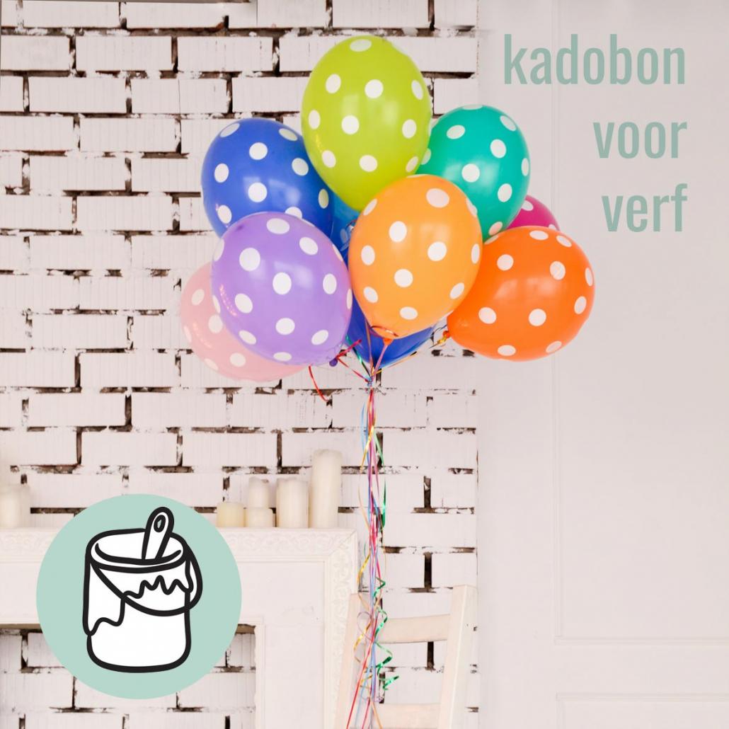 kadobon verf model 06