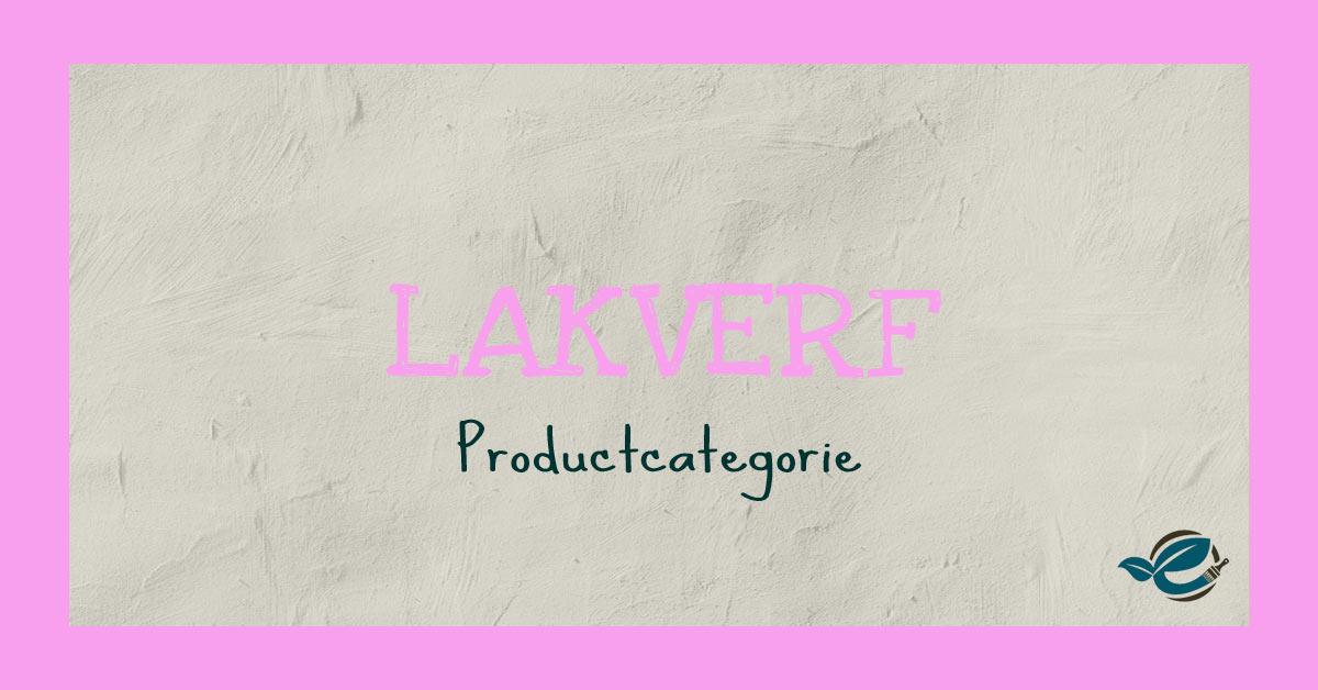 lakverf biobased productcategorie