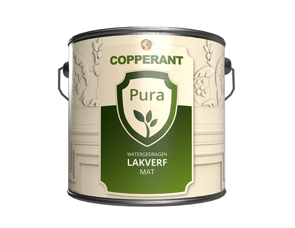 Lakverf mat plantaardig pura