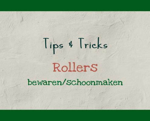 verf roller bewaren